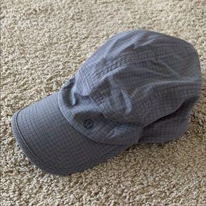 Grey Lululemon women's hat